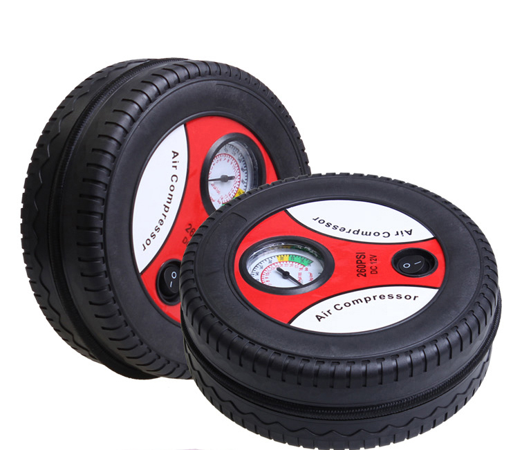 Car air pump mini portable car air pump car playing pump car tire inflator pump inflatable pump