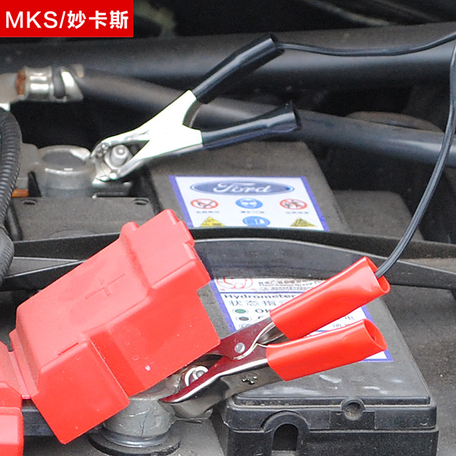 Car battery clip turn cigarette lighter battery clip car battery cable battery cable car supplies