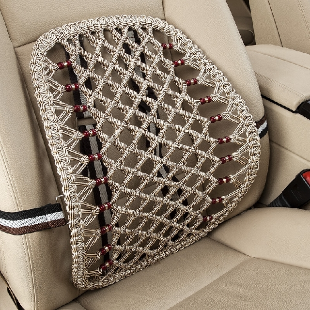 Car cushion lumbar cushion lumbar pillow memory foam pillow car waist cushion backrest cushion car seat lumbar support pillow