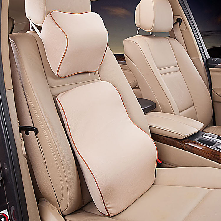 Car headrest lumbar suit buicks weilang car car seat back cushion lumbar support pillow neck pillow rely