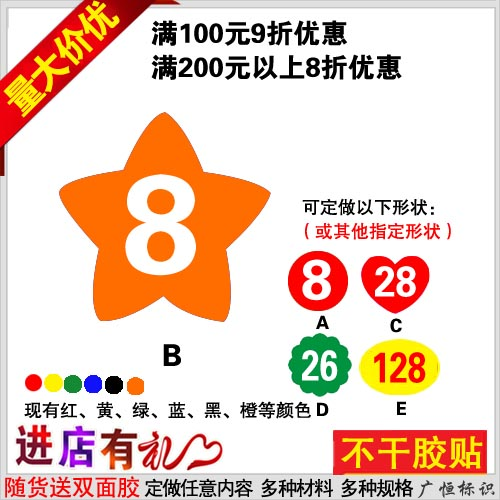 Car number stickers affixed stickers digital stickers affixed stickers table number stickers affixed waterproof motorcycle series digital stickers affixed activities