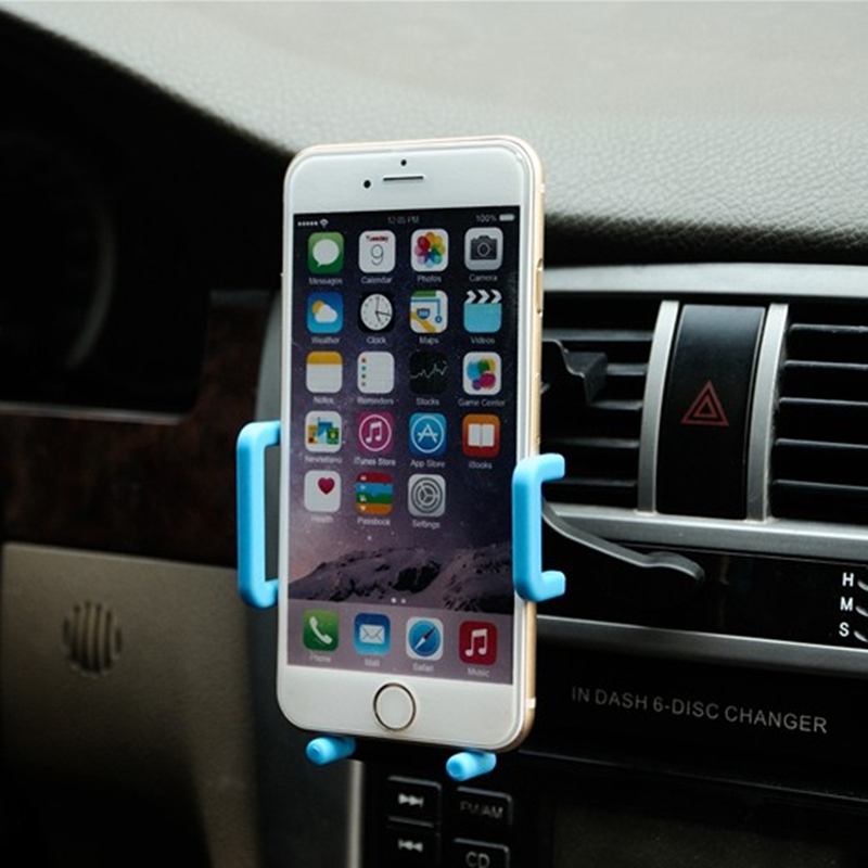 Car phone holder car phone holder with outlet universal suction cup car multifunction navigation mobile phone holder creative