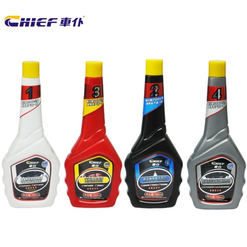 Car servant/chief suit a family of four fuel additive fuel system cleaner kit (160mlx4 bottle)