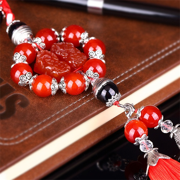 Car stalls beads gear gear yasuhei anfuku ornaments rosary beads natural tiger eye prayer beads free shipping
