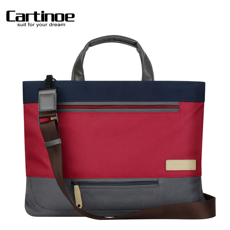 Cartinoe lenovo dell laptop bag 13 inch 14 inch laptop shoulder bag laptop bag men and ladies
