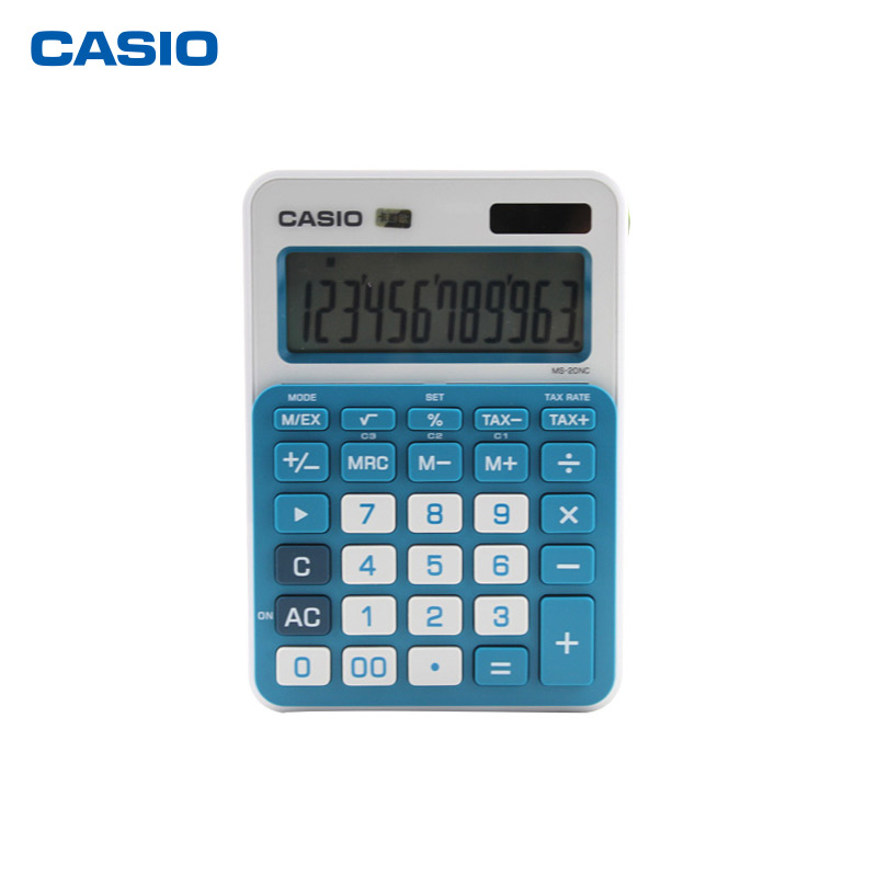 Casio/casio ms-20nc calculator cute mini solar shipping computer