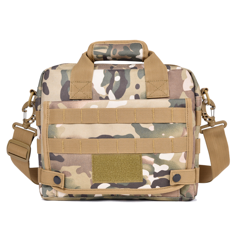 Cazekyts outdoor tactical camouflage shoulder bag casual sports bag man bag messenger bag hand bag camouflage laptop bag
