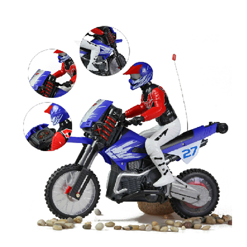 Central church children motocross stunt car speed electric electric rechargeable remote control car racing children's toy car