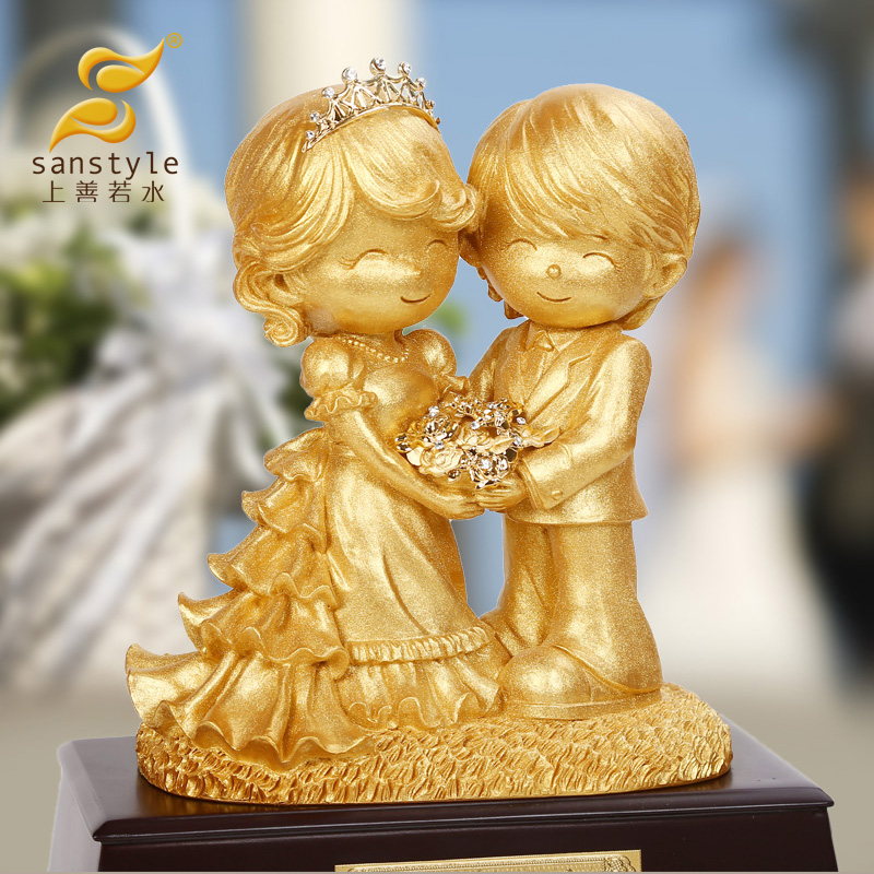 Charity gilt bainianhaoge wedding gift ornaments to send girlfriends friends especially creative and practical gifts 7035