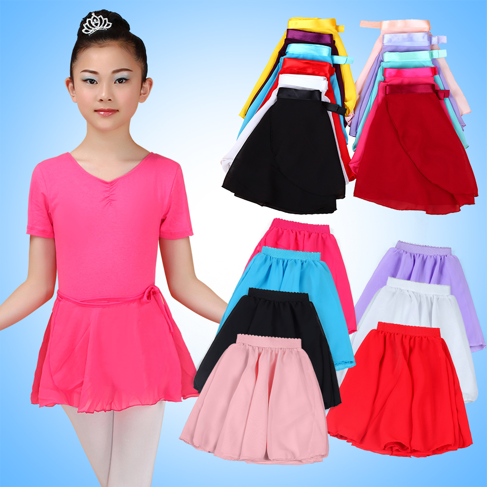 6dd1235b4d8 Get Quotations · Cheap chiffon skirt for girls and young children dance  costume play out the summer clothes and