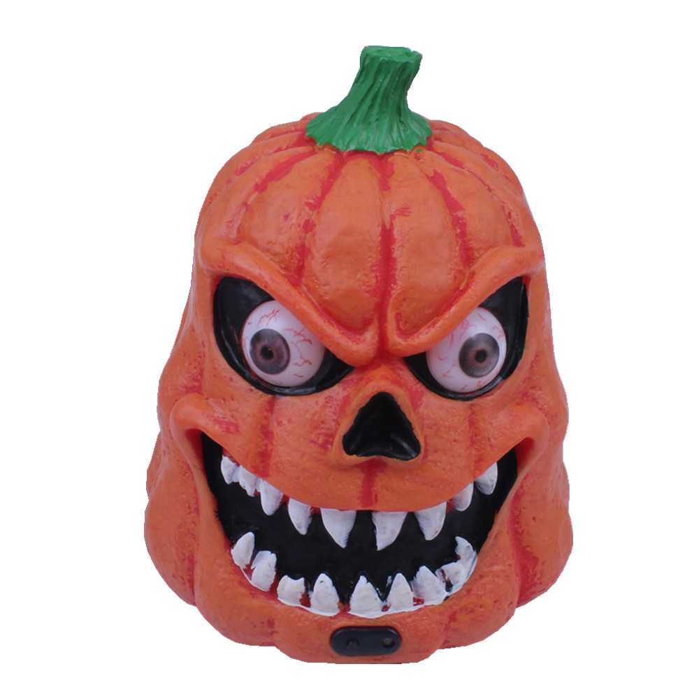 Chen tao 420g halloween props bar decorated pumpkins ghost pumpkins luminous vocal voice induction