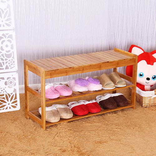 Chen yi gifted a simple bamboo wood storage stool changing his shoes shoe shoes stool european pastoral his shoes stool stool changing his shoes Cabinets