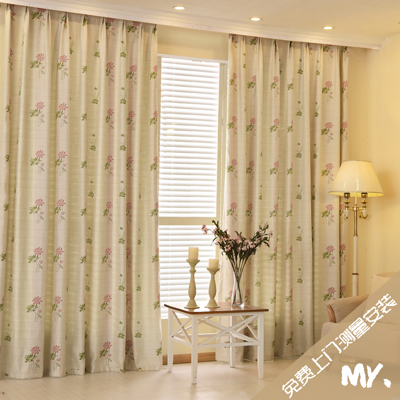 Chengdu professional master free onsite measurement roman curtain rod track window curtain rod curtain rail installation
