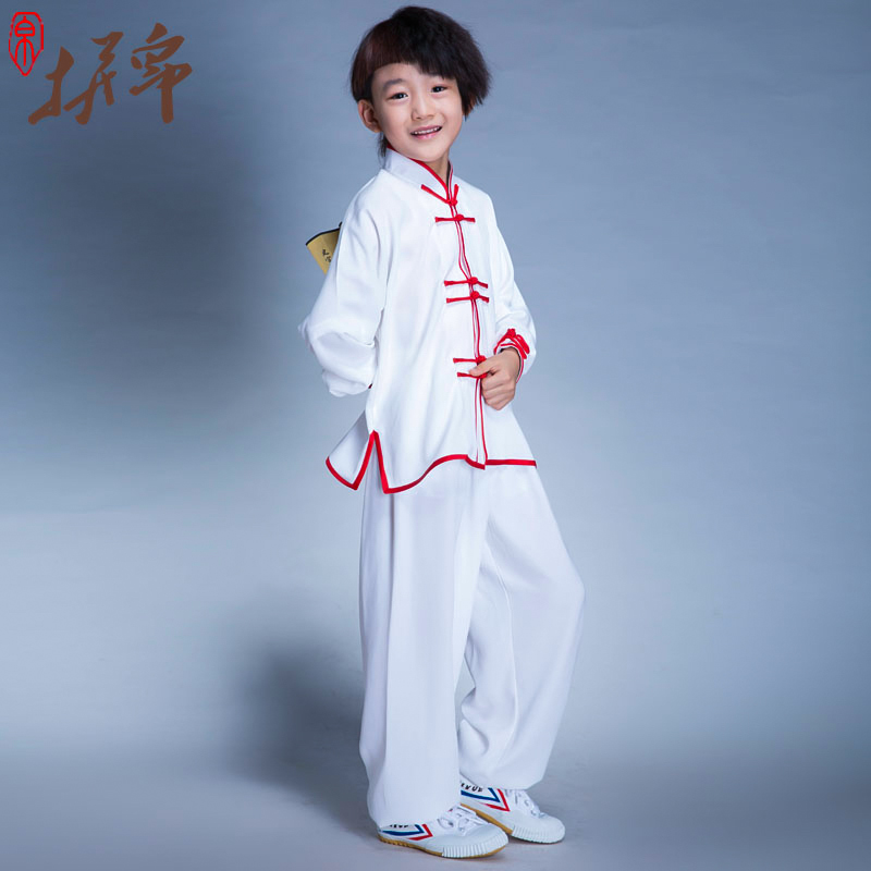 Chenjiagou handmade children's martial arts tai chi clothing for men and women martial arts clothing performance clothing chinese style dance clothes children's groups