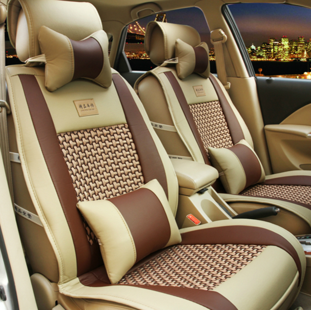 Chevrolet chong chong cool cool cool ice silk car seat cushion summer new car seat the whole package pad upscale car mats