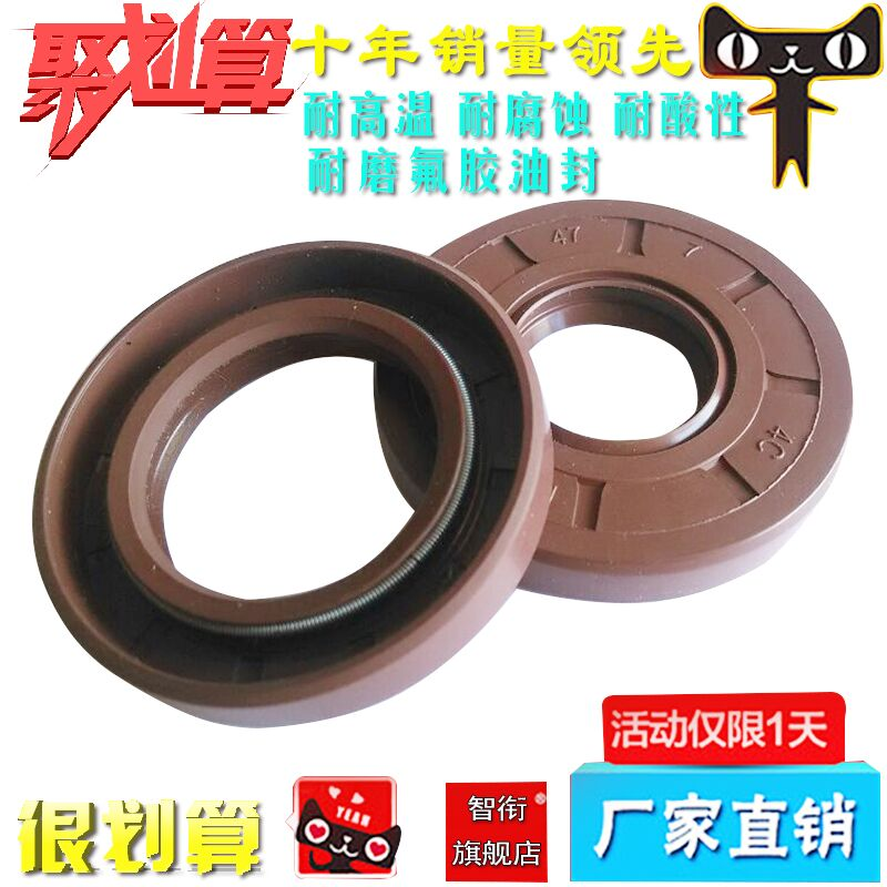 Chi title tc19 * 47*10 high temperature fluorine rubber skeleton oil seal 20*30*5 20*30 * 6