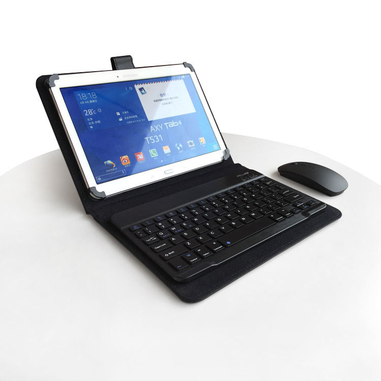 Chi v10hd galaxy galaz a1 sleeve 10 inch tablet leather protective cover bluetooth keyboard