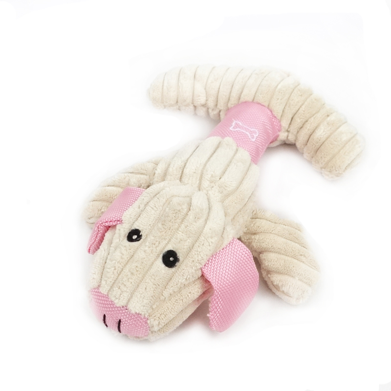 Chiba pet toys meng chong series piggy 1 dog bite resistant jiechi bleeping called sound plush toys