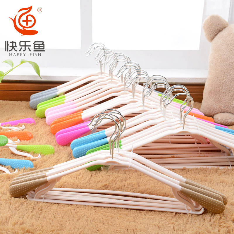 Children's home thick clothing store clothing racks child support slip hook adult plastic drying racks child 20