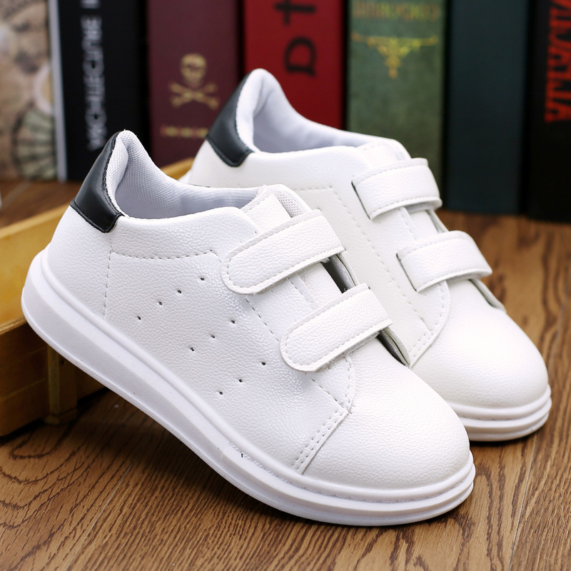 Children's sports shoes women shoes casual shoes white shoes boys 2016 spring and autumn influx of korean version of the small big virgin shoes