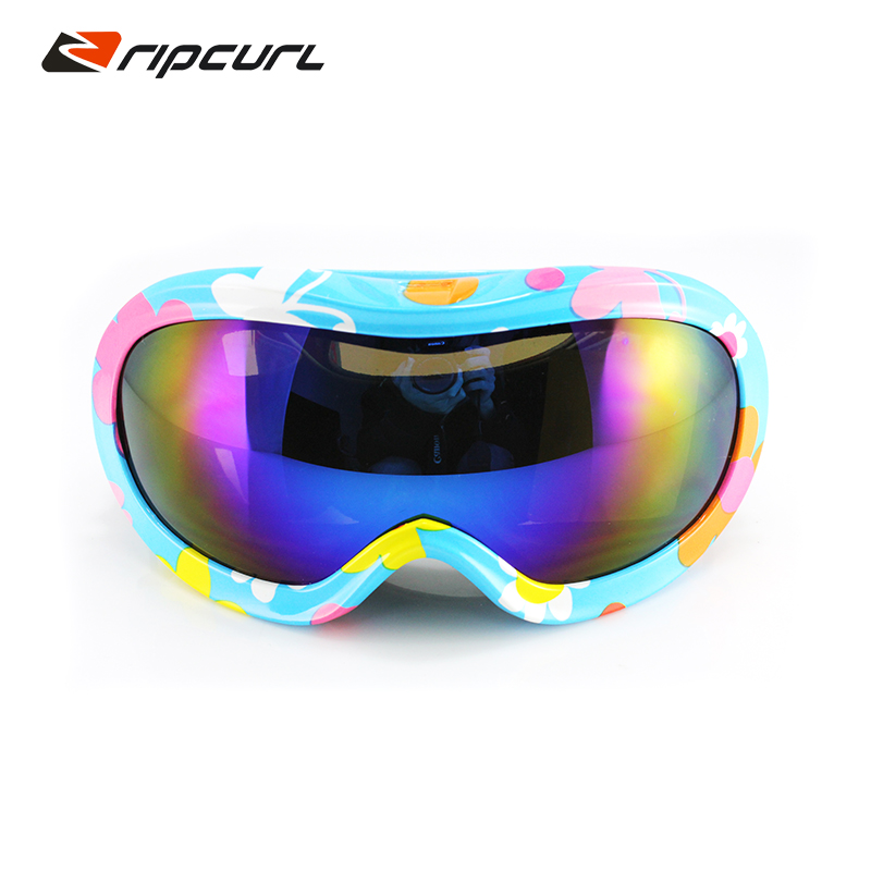 3ac2cbd5a1 Get Quotations · Children s sports windproof ski goggles large mirror glasses  ski goggles ski mountaineering glasses goggles fogging g97