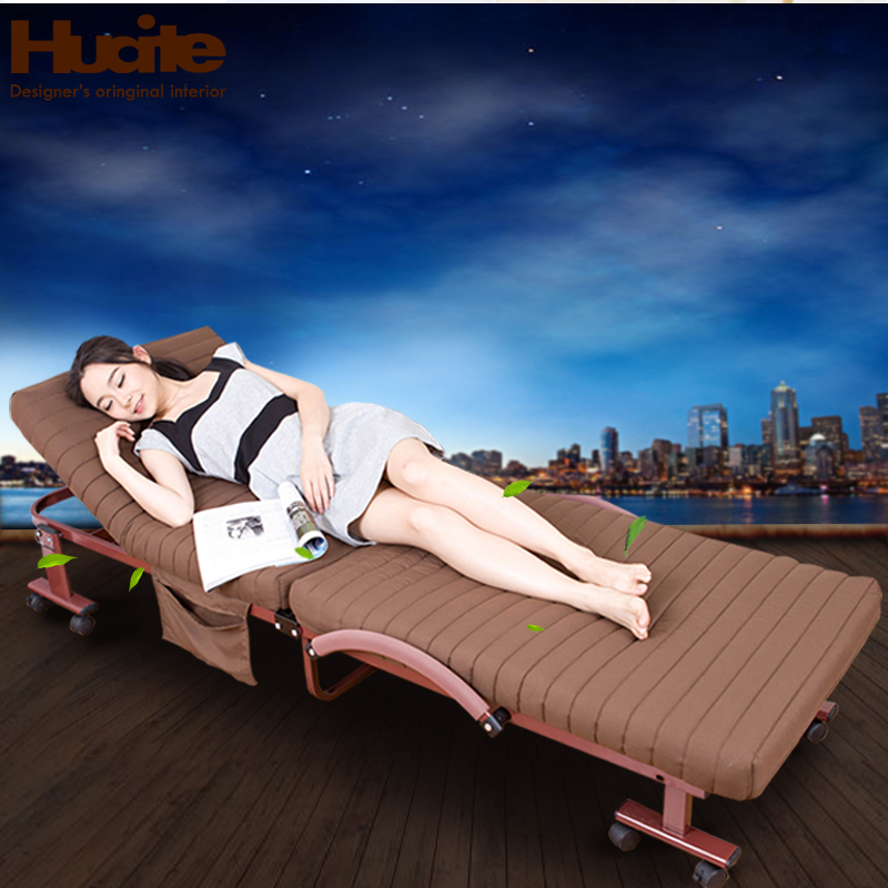 China ait folding bed single bed siesta free installation of office nap bed camp bed simple bed accompanying bed