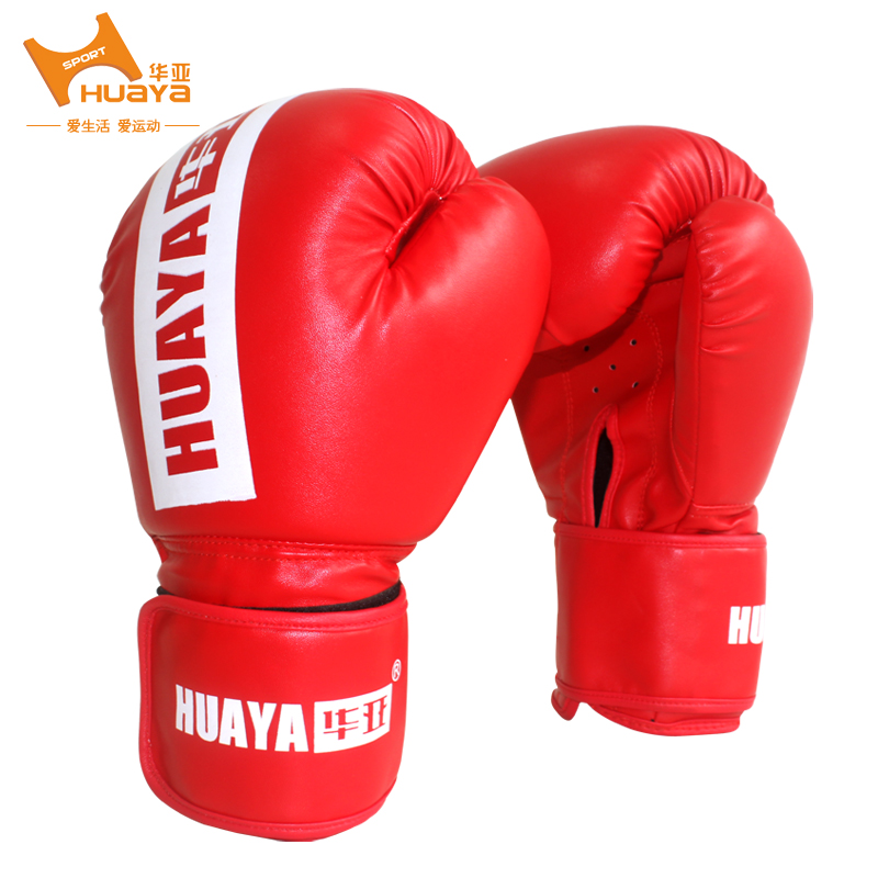 China and asia adult professional boxing gloves sandbag training glove gloves sanda fighting martial arts fighting game