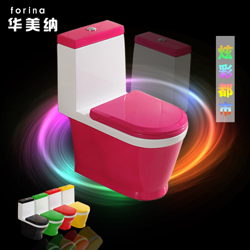 China and the united states satisfied colored rear left and right horizontal row siphon toilet toilet toilet wall row 200 250 350 special from the pit