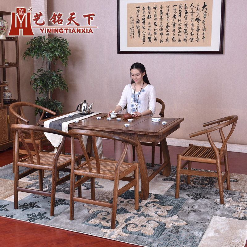 Chinese antique mahogany furniture wenge wood tea table solid wood coffee table antique tea sets chinese style tea table tea table