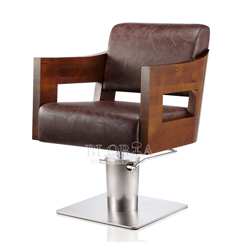 Chinese style salon hair dye upscale barber chair haircut chair hydraulic chair salon chair barber chair