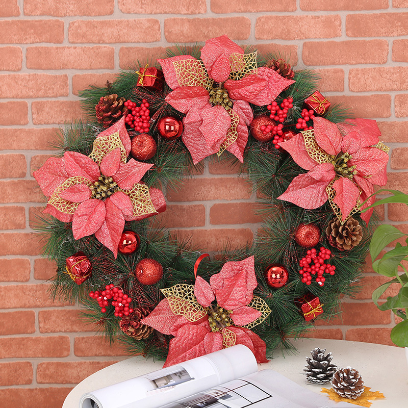 Christmas decorations christmas gifts christmas wreath christmas decorations christmas red christmas wreath door wreath decorated with ornaments