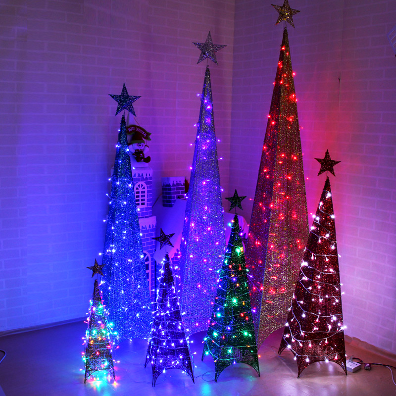 Christmas decorations christmas tree silver tower surrounded by wrought iron christmas tree ornaments christmas light package