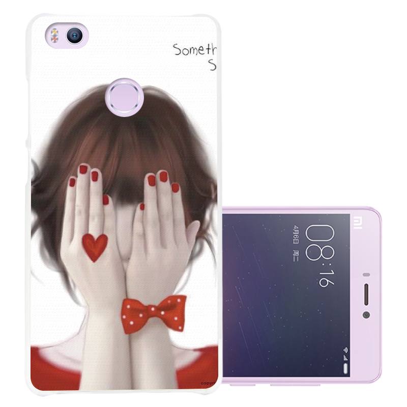 Cimarron millet millet 4s 4s phone shell mobile phone sets mi4s lovely color cartoon mobile phone shell painted hard shell