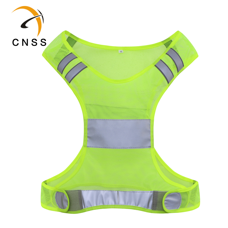 Cnss dominic reflective safety clothing reflective vest vest reflective safety vest with reflective tape