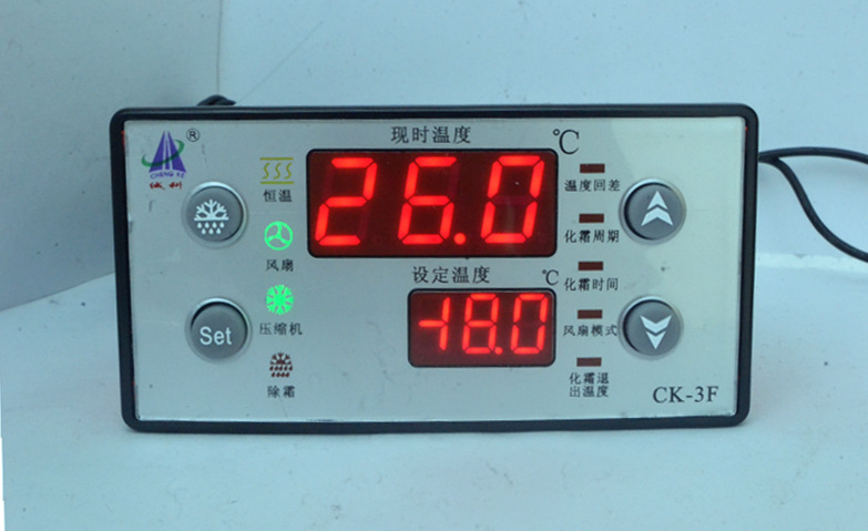 Cold storage freezer defrost microcomputer temperature controller overtemperature alarm output refrigeration temperature controller thermostat temperature control table