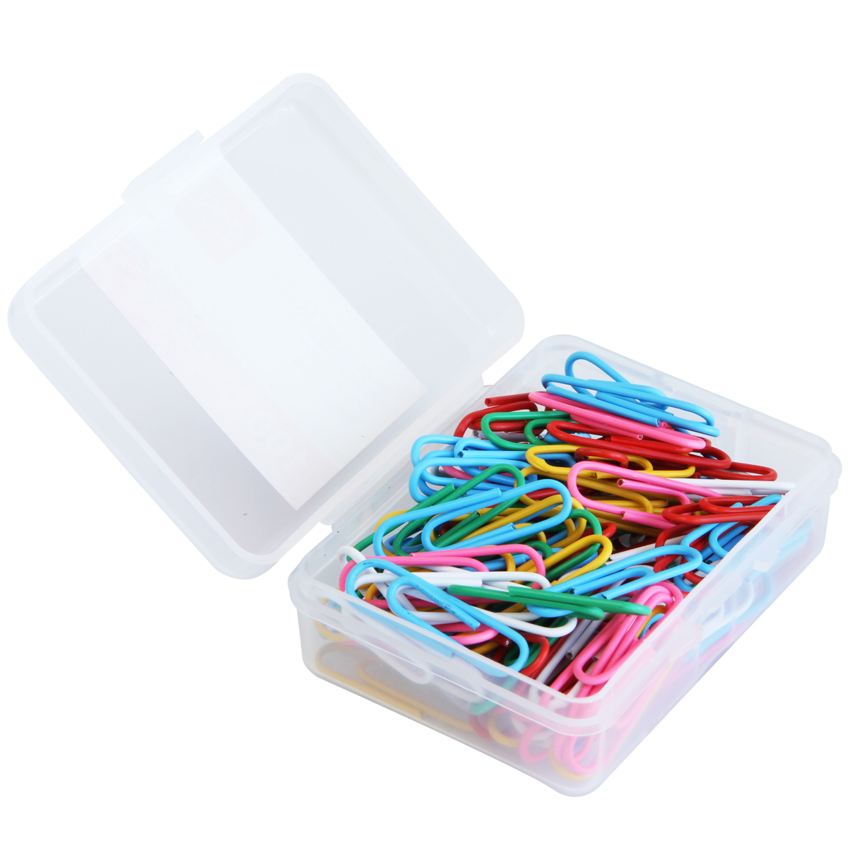 Colored paper clips deli deli 0024 colored paper clips paperclip office supplies stationery 29mm