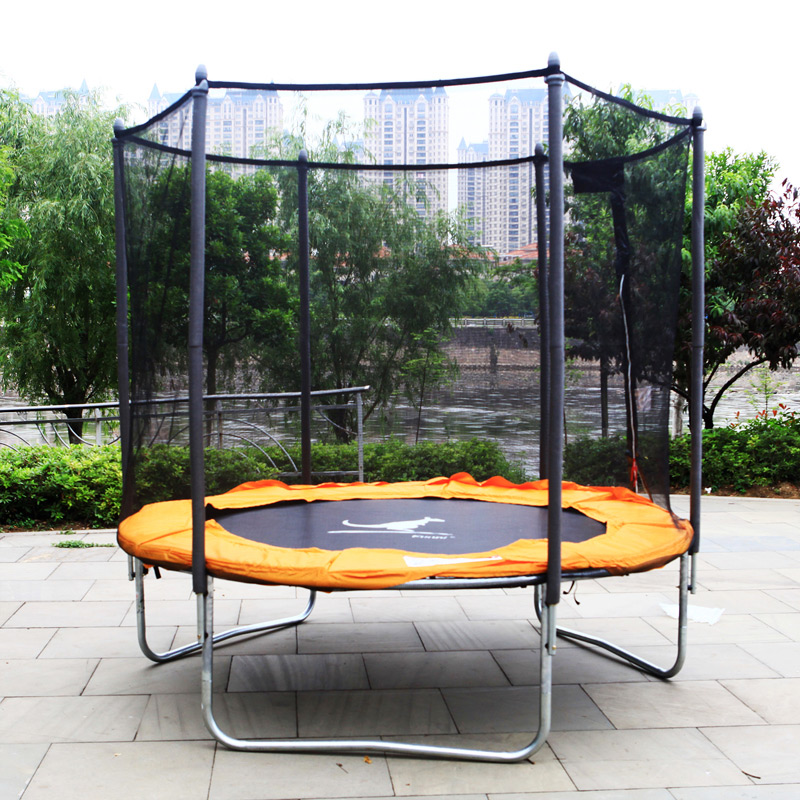 Commercial home large children's indoor trampoline outdoor trampoline fitness trampoline bungee jumping adult square