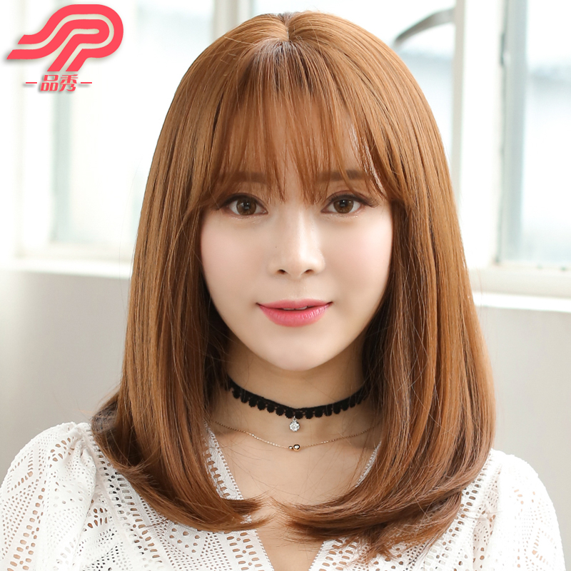 Buy Commodities Show Wig Air Bangs Wig Short Hair Female Bobo Head