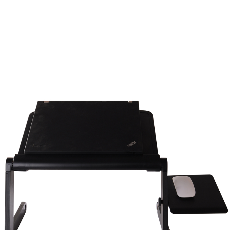 Commodities yi multifunctional laptop bed desk computer desk laptop table folding table stand with radiator fan