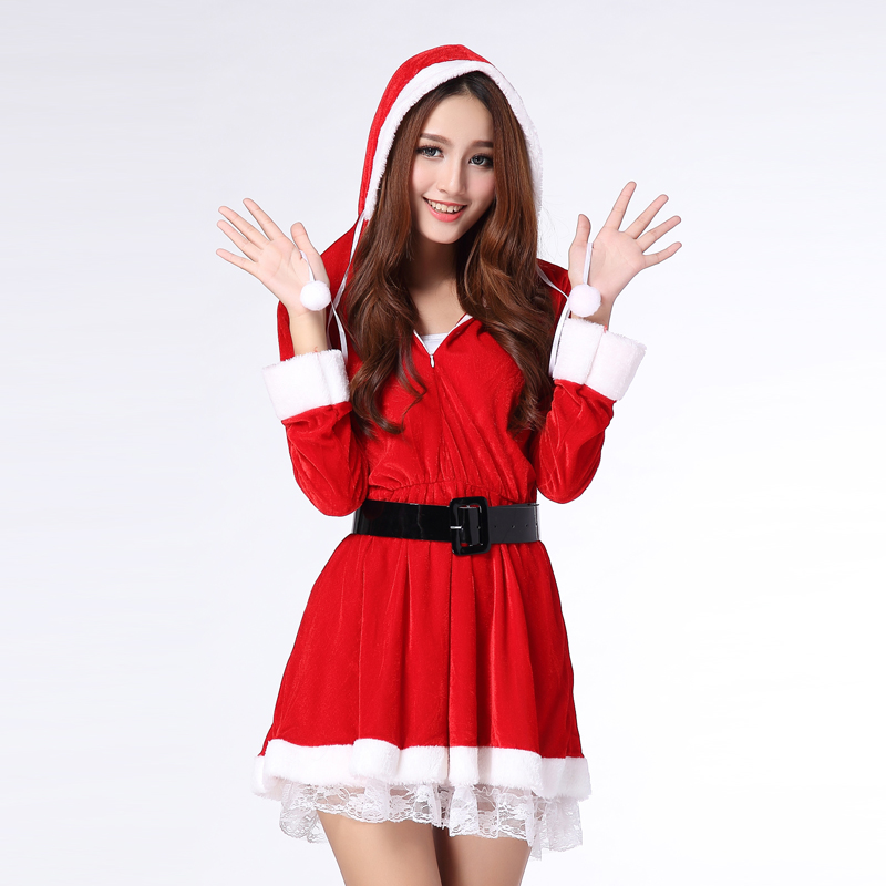 fb47bfc6ce8e Get Quotations · Commodities yin with sleeves christmas dress christmas  costume christmas costumes christmas costumes sexy lingerie sexy uniforms