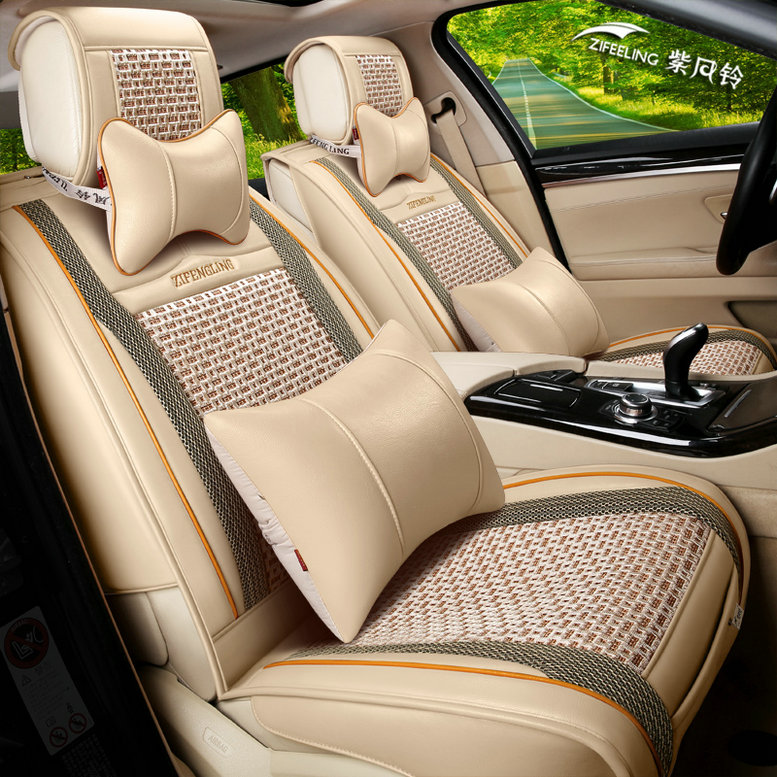 Common summer ice silk car seat chun faction d60 faw jilin senya s80 special cloth cover all inclusive seat cushion