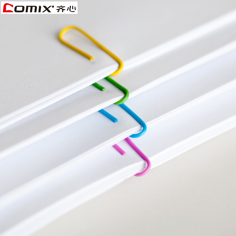 Concerted paperclip barreled 29mm colored paper clips paperclip stationery wholesale office supplies 3509