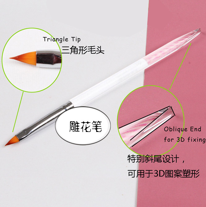 Confucian meaning 3d carved pen light therapy pen handmade diclinic tail cat slim andtransparentacrylicrods satirises stereoscopic 3d modeling pen