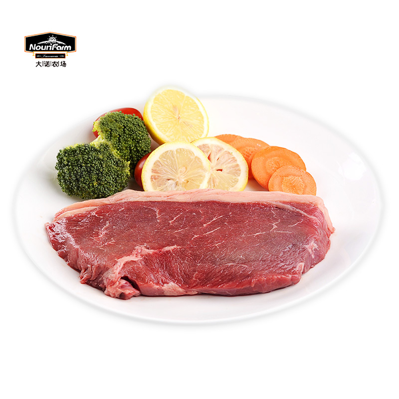 Connaught australia's original single cut piece of farm d'orl imported steak steak 315g western cuisine