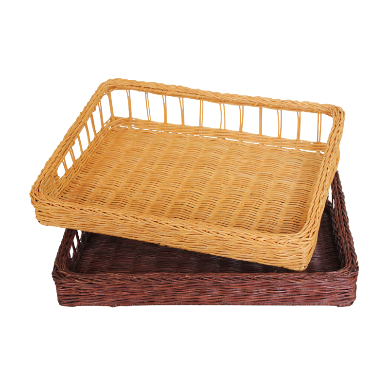 Contadino preparation basket kitchen storage basket basket fruit basket fruit plate compartment tray bread basket desktop western dish large
