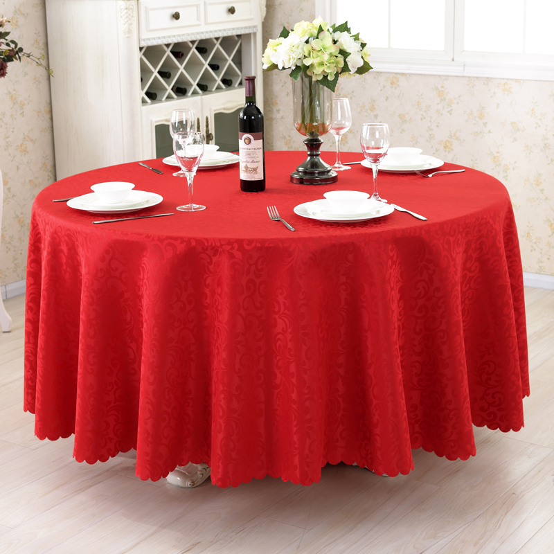 Continental restaurant hotel hotel roundtable coffee table cloth tablecloth tablecloth fabric table cloth tablecloth square tablecloth round table table skirts