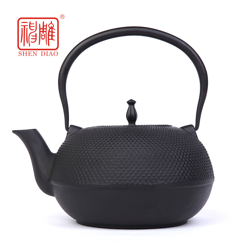 Cooker dedicated to increase the capacity of iron kettle southern japan cast iron pot large teapot with strainer oxidization pig iron pot