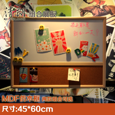 office cork boards. Cool And Bright 4560 Combination Of Decorative Cork Board Magnetic Whiteboard Display Imitation Wood Frame Office Boards