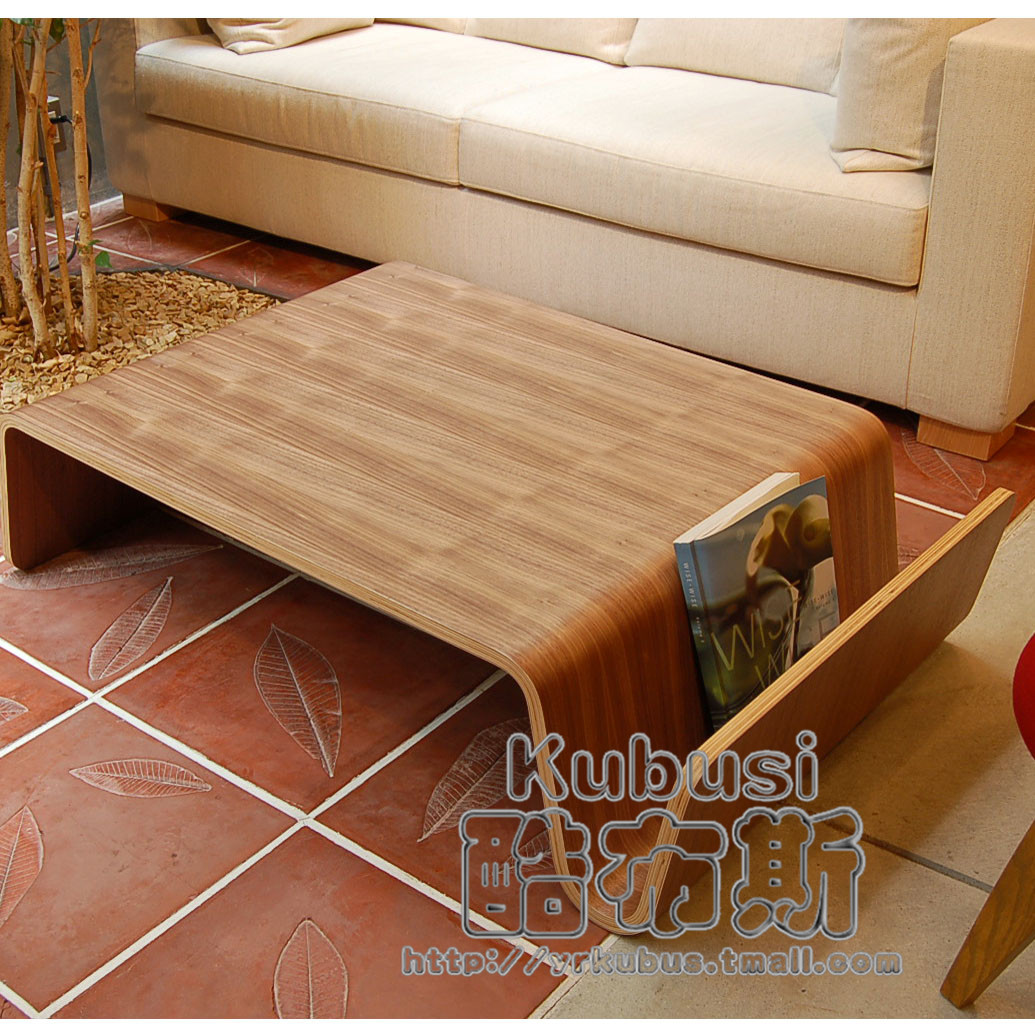 Cool booth scando table 190 step on step m curved wooden coffee table coffee table coffee table a few long coffee table model room furniture aiji