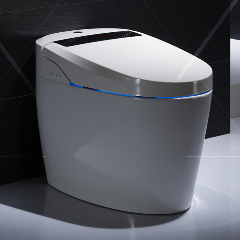 Cool chi bathroom integrated intelligent smart toilet toilet toilet without cistern tankless automatic toilet